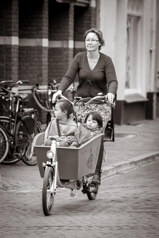 Dutch bikes - copyright Charlotte Bellamy