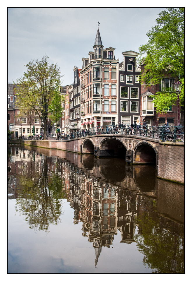 Amsterdam - Reflections and architecture