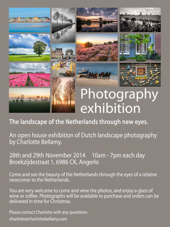 Charlotte Bellamy Photography exhibition