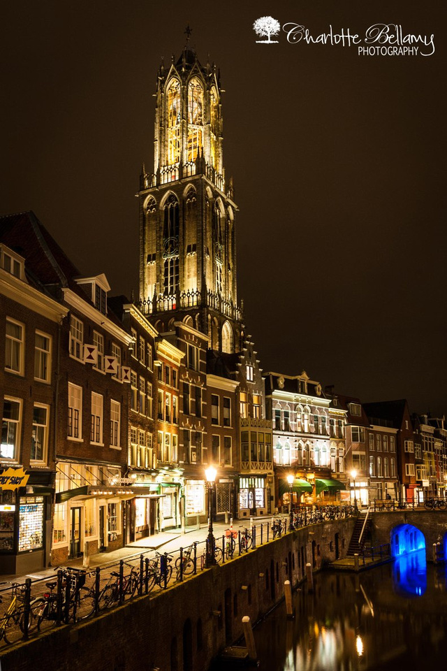 Night photography Utrecht